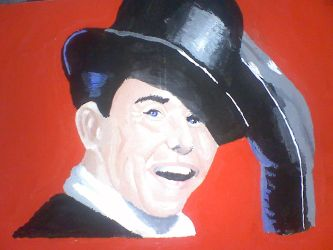 frank sinatra painting by hectorpoliwk24