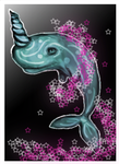 narwhal by Goldphishy