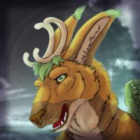 Commissions: Gylfie -icon by SaQe