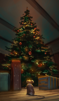 Muriel and the Christmas Tree by Chris-Karbach