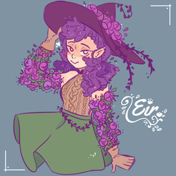 Eir the herbal witch by Cafhune