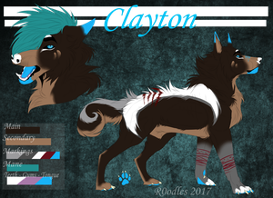C: Clayton Reference by R0odles