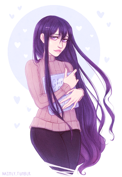 Doki Doki Literature Club - Yuri by Naimly