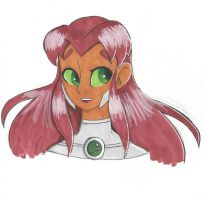 Starfire by bluestarproduction