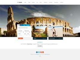 Travel Agency - Responsive HTML5 Template by DaJyDesigns