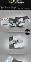 4xA4 Brochure Mock-up by idesignstudio