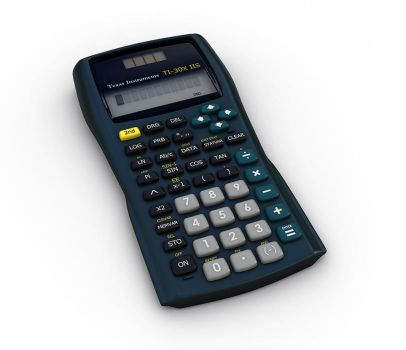 Texas Instruments Calc by undeathspawn