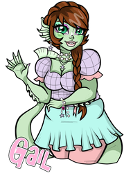 Gail For Candy by MarianasMasterpiece