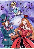 JKMM-APH Alice in Wonderland by MaryIL