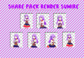 Share pack render Sumire by Hayashi-Miria
