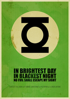Green Lantern: In brightest day in blackest night by ItomiBhaa