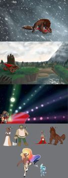 RED: Game Concept art by Earthsong9405