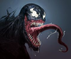 Venom Smile by GeniusFetus