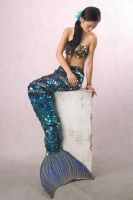 Mermaid stock 1 by angelcurioso