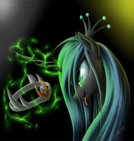 Chrysalis and crown Sombra by ZiG-WORD