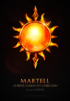 Game of Thrones Martell by jjfwh