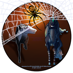 Spooky Spiders by AmaranthineRain