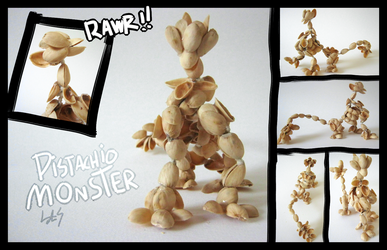 Pistachio Monster by revioLATE