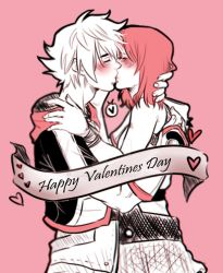 [VALENTINES SKETCHES] Sokai_ Kingdom Hearts by MMHinman