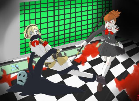 Shadow Stole my Aigis by RedGwendolyn by Shaded-Seraphim