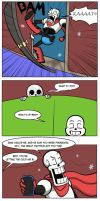 Undertale Green chapter 3 Page 28 by FlamingReaperComic