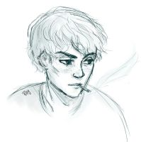 Charlie Sketch by Blueberries-in-July
