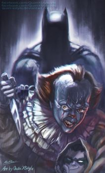 IT the Clown: Watch Out ! by Quan-Xstyle