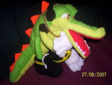 VECTOR CROCODILE  PLUSH by Victim-RED