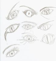 Eyes doodle by kmccaigue