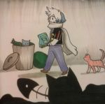 Inktober 2017-25:Stray cats by Laet-lyre