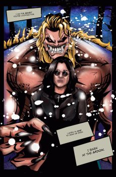 Splash Page/Comics: Ozzy Osbourne by Jayfrihashim