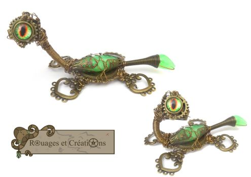 Steampunk Baby Nessy by Rouages-et-Creations