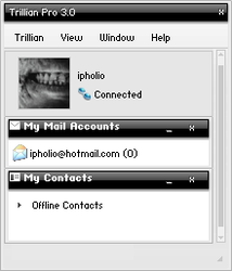 Glitch For Trillian by ipholio