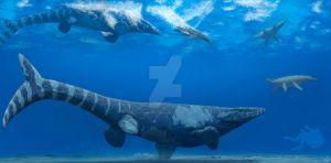 Manitoba Sea Monsters: Tylosaurus pembinensis