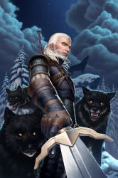 The White Wolf by GEIKOUart
