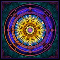 Mandala Of Creativity by MomoMondblume