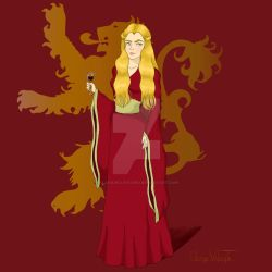 Cersei Lannister by AlanaWolfhound