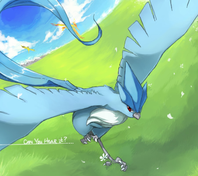 Articuno Legends by Kureculari