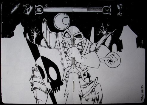 #13 - Hero revived (MediEvil) by Neves7seven