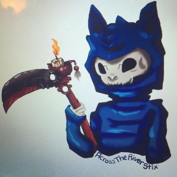 Grimmeow Reaper by SolbiiMelody
