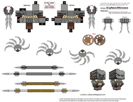 Cubee - Predator Accessories by CyberDrone