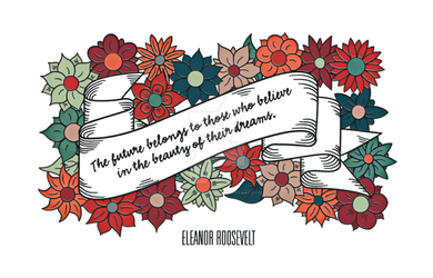 Eleanor Roosevelt by GuardianMajor