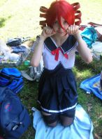 Teto Kasane School vers. - UTAU by KokoCosplay