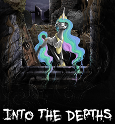 Into The Depths Cover - COM by PenStrokePony
