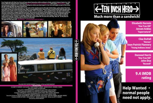 Ten Inch Hero DVD Cover by gojera