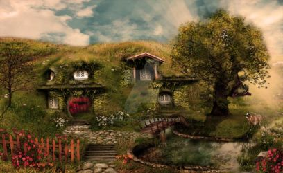 The Shire by CearaFinn