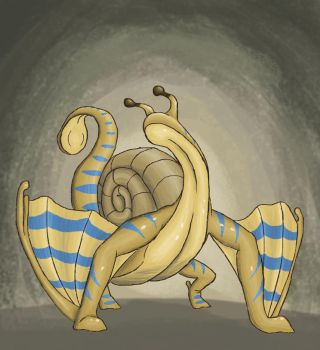 CDC October 3: Snail Drake by NightmareRoach
