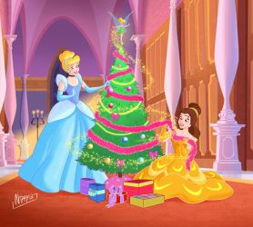 Belle Cindy Xmas Tree by Nippy13