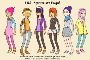 MLP: Hipsters are Magic by cyevi