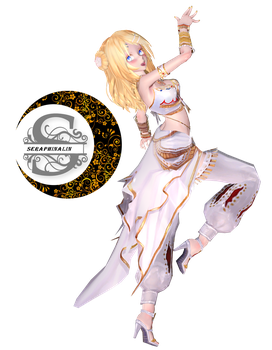 TDA Arabian Princess Rin (Different hairstyle) by SeraphinaLin